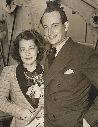 Grand Duchess Kira Kirillovna of Russia - Grand Duchess Kira with her husband Prince Louis Ferdinand.