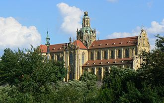 Kladruby (Tachov District) - The Abbey of Kladruby