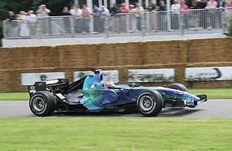 Christian Klien - Klien driving a Honda RA107 at the 2007 Goodwood Festival of Speed