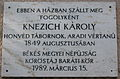 Knezich Károly Plaque Gyula.jpg
