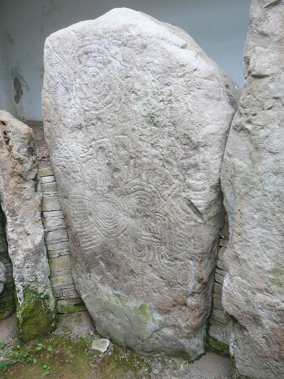 Knockmany Chambered Tomb, Co. Tyrone, Northern Ireland left