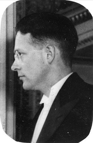 Knut Fægri - Knut in the 1930s
