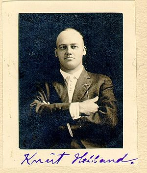 Knut Gunnarsson Helland - Knut Gunnarsson Helland. Picture taken after 1901