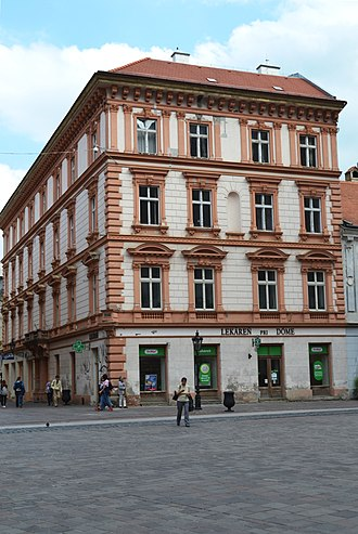 Old Town, Košice - Image: Košice pam. budova Mlynská 1