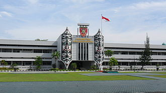 Military district - VI Mulawarman Military district command HQ, situated in Balikpapan, East Kalimantan