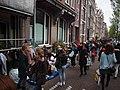 Koningsdag in Amsterdam, Bloemgracht foto 1.JPG