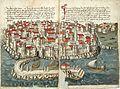 Konrad von Grünenberg - Beschreibung der Reise von Konstanz nach Jerusalem - Blatt 17v-18r.jpg