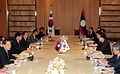 Korea-Laos summit. June 01, 2009 (4344728767).jpg