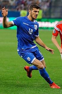 Kostakis Artymatas Cypriot international footballer
