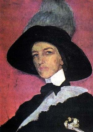 Elizaveta Kruglikova - Self-portrait (1910)