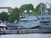 Mine hunting boat Herten
