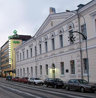 Kuopio Lyceum High School - The school is located in Kuopio city centre.