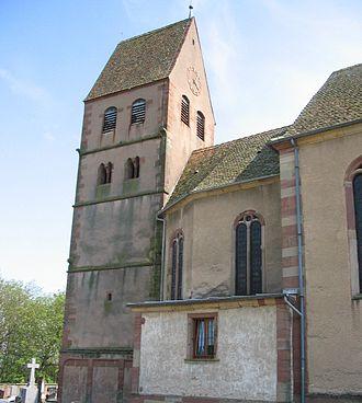 Kuttolsheim - Saint-Jacques-le-majeur church