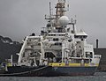 L'Atalante à quai dans le port de commerce de Brest.jpg