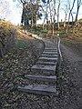 Lépcsősor, Széchenyi utca, temető, 2019 Isaszeg.jpg