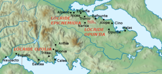 Alope (Opuntian Locris) ancient settlement in the Opuntian Locris