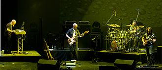 Liquid Tension Experiment - Liquid Tension Experiment onstage at Nearfest 2008. Bethlehem, PA..  From left: Jordan Rudess, Tony Levin, Mike Portnoy, John Petrucci.