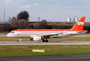 LTU Austria - Airbus A320 from LTU Austria
