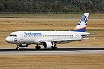 LY-VEB Airbus A320-200 SunExpress DUS 2018-07-31 (9a) (44334137252).jpg