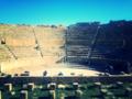 La Cavea du théâtre de Timgad à Batna en Algérie.png