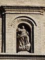 La Puebla de Alfindén - Iglesia de Nuestra Señora de la Asunción - Portada - Hornacina.JPG
