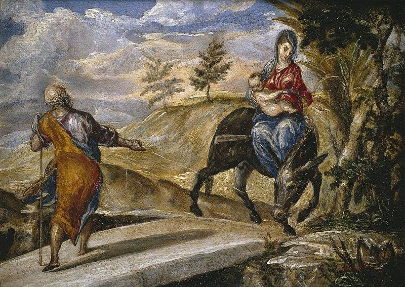 File:La huida a Egipto (El Greco).jpg