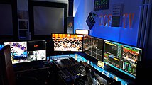 La messa in onda della TCF web tv.jpg