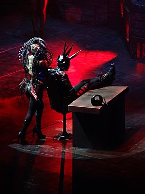 "Government Hooker - Gaga performing ""Government Hooker"" on the Born This Way Ball."