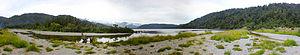 Lake Mapourika - Lake Mapourika