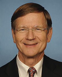 Portrait officiel de Lamar Smith.