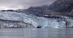 Lamplugh Glacier - terminus of Lamplugh Glacier in 2011