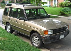 Land Rover Discovery Series I (North America)