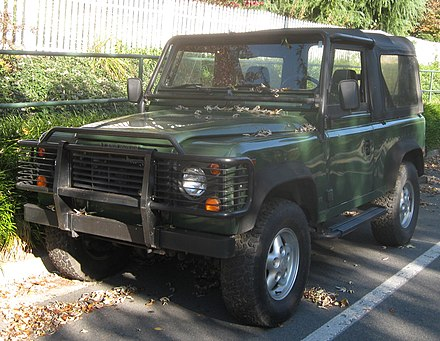 Land rover defender wikiwand nas defender 90 soft top freerunsca Image collections