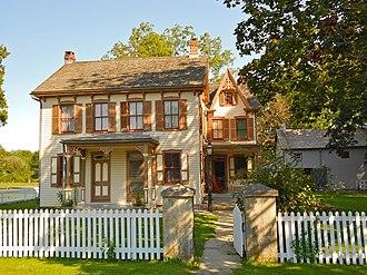Landis Valley Museum - Landis House in September, 2012