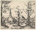 Landscape with Small Church and Arch over Stream (counterproof) MET DP823097.jpg