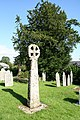 Laneast - Celtic cross and yew - geograph.org.uk - 511708.jpg