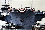 Launch of USS Nimitz (CVN-68) at Newport News Shipbuilding on 13 May 1972.jpg