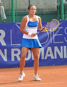 Laura Thorpe at the 2011 BCR Open Romania Ladies.jpg
