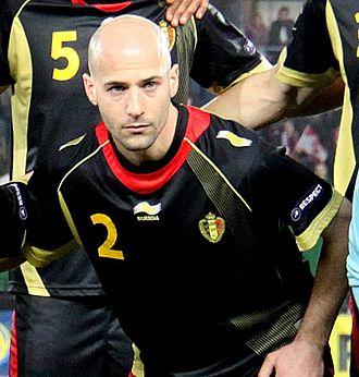 Laurent Ciman - Ciman with Belgium in 2011