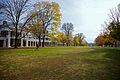 Lawn UVa looking south fall 2010.jpg