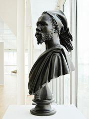 The Nubian man