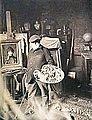 Le peintre Jean-Jacques Henner dans son atelier (8684762149).jpg