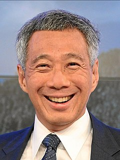 Lee Hsien Loong Prime Minister of Singapore