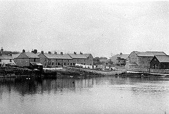 Leece - Image: Leece postcard 1904
