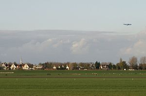 Jacobswoude - Leimuiden as seen from the south.