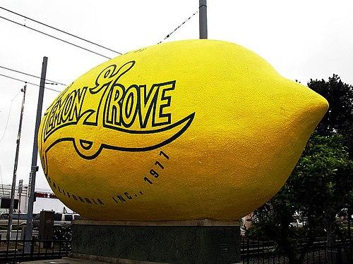 Lemon Grove mailbbox