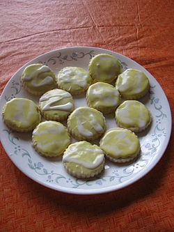 Lemon shortbread cookies with lemon royal icing.jpg