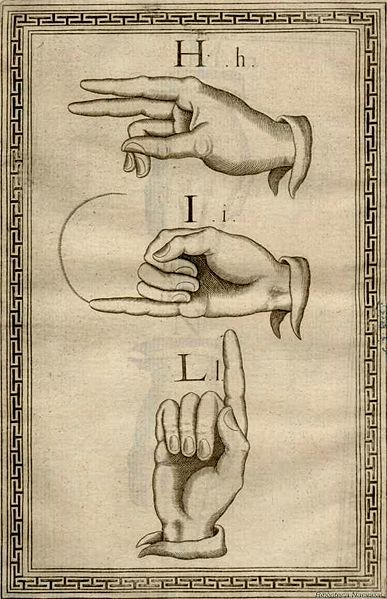 señas