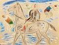 Leo Gestel Horserider on the beach.jpg