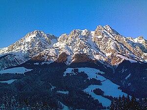 Leogang Mountains - Image: Leoganger steinberge